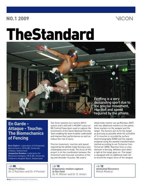 Vicon Standard 2009