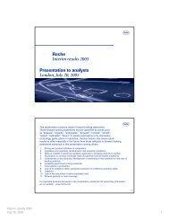 Presentation as PDF - Roche
