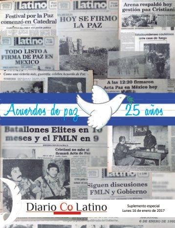 Suplemento Acuerdos de Paz