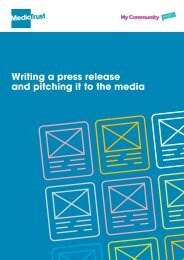Writing a press release and pitching it to the media