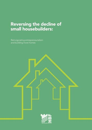 Reversing the decline of small housebuilders