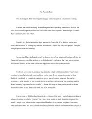 The Parasite Text