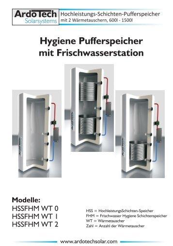 Ardotech-Hygienespeicher-Frischwasserstation