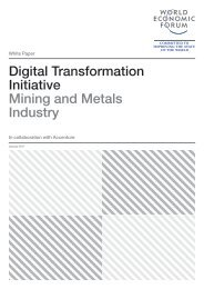 Digital Transformation Initiative Mining and Metals Industry