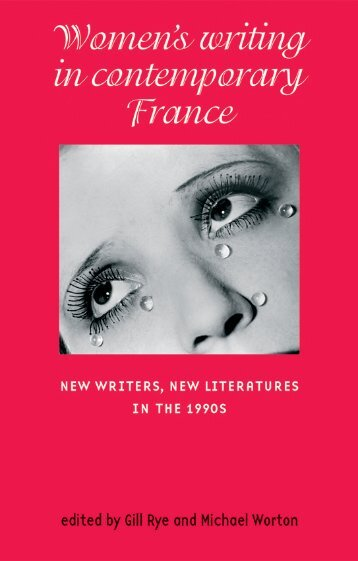 Women writing in contemporary France