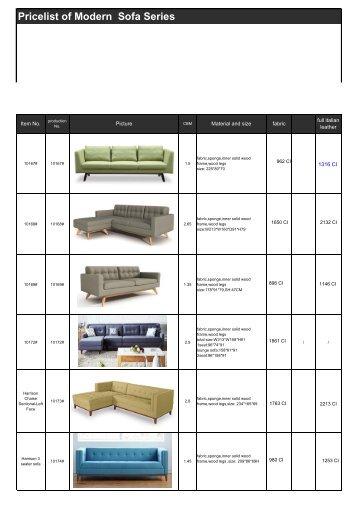 ZAIKAT Modern Sofa