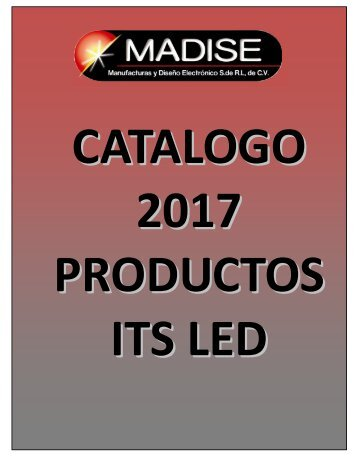 Productos LED ITS 2017