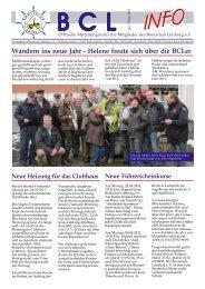 Wandern ins neue Jahr - Helene freute sich über die BCLer - Lahn