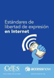 Estándares de libertad de expresión en Internet