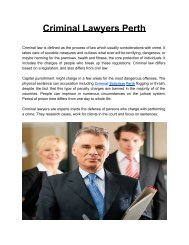 CriminalLawyersPerth