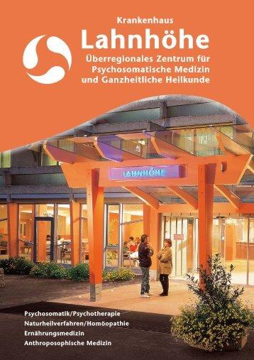 Informationen zur Patientenaufnahme - Krankenhaus Lahnhöhe