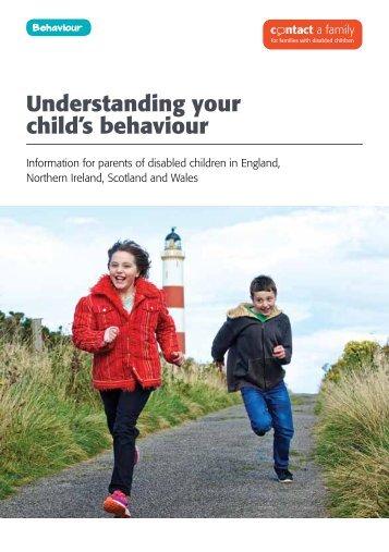 Understanding your child's behaviour