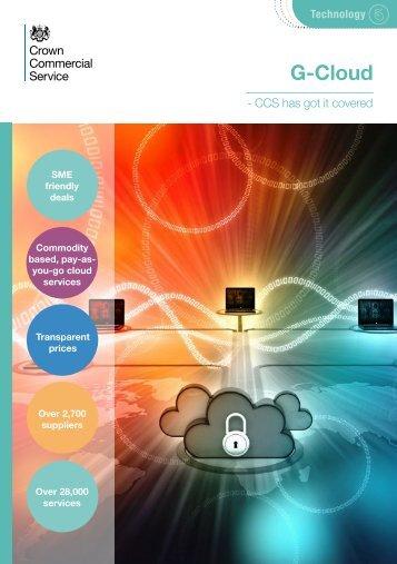 G-Cloud pay-asyou-go