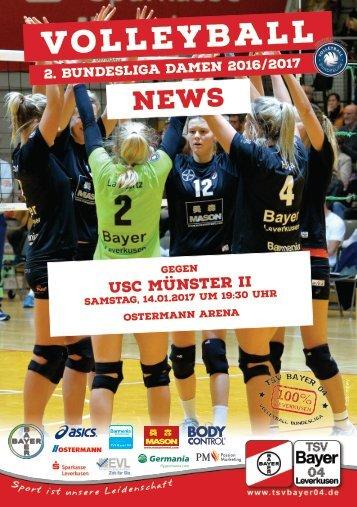 Spieltagsnews Nr. 06 gegen USC Münster II