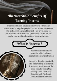 Incredible Benefits Of Burning Incense - Psychic 121 Readings