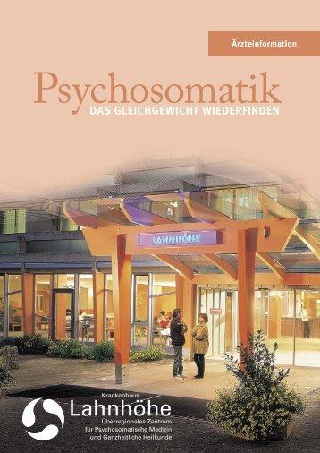 DAS GLEICHGEWICHT WIEDERFINDEN - Krankenhaus Lahnhöhe
