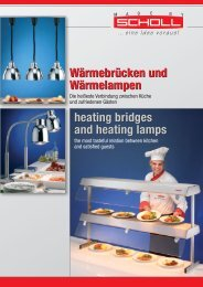 Sammelprospekt Wärmebrücken+Wärmelampen heating bridges heat lamps