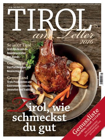 ECHO Tirol am Teller 2016
