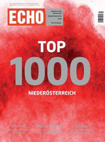 ECHO Top1000 Niederösterreich 2016