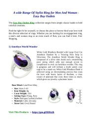 A wide Range Of Stylist Ring for Men And Woman -  Easy Buy Outlets