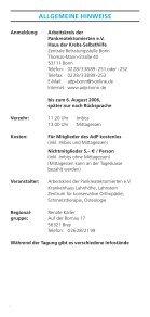 257070 Leipzig - Arbeitskreis der Pankreatektomierten e.V. - Page 7