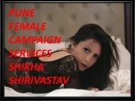Enjoy Girlfriend experience at Pune- Shikha Shirivastav