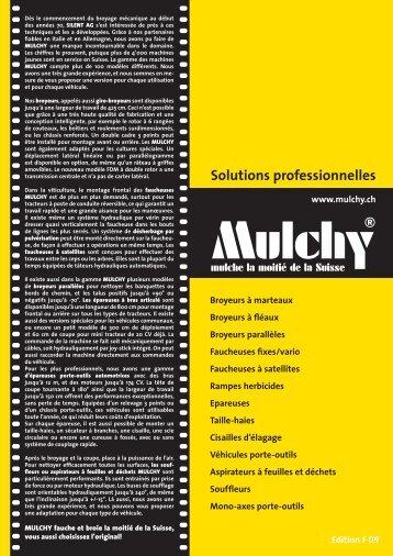 Solutions professionnelles