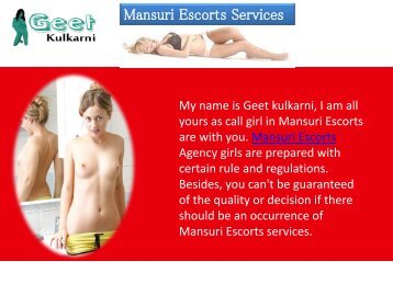 Mansuri Escorts