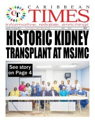 Caribbean Times 77th Issue - Tuesday 17th January 2017
