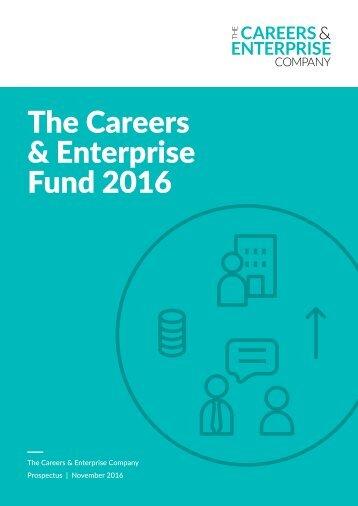 The Careers & Enterprise Fund 2016