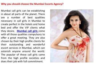 Why you should choose the Mumbai Escorts Agency