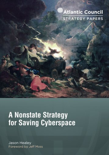 A Nonstate Strategy for Saving Cyberspace
