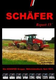 SCHÄFER Report 2015