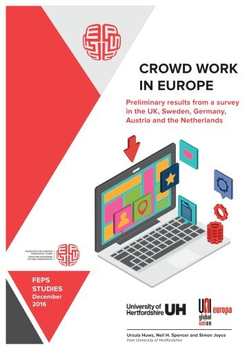 CROWD WORK IN EUROPE