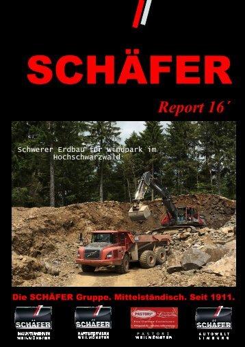 SCHÄFER Report 2016
