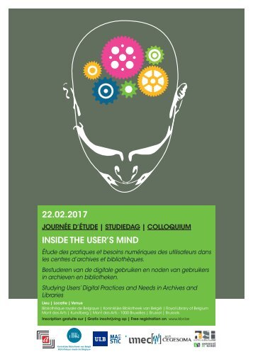 22.02.2017 INSIDE THE USER'S MIND