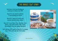 Dorset Tea & Tea India Sales Presenter September 2016