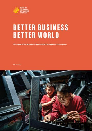 BETTER BUSINESS BETTER WORLD