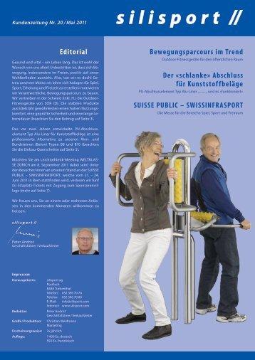 Bewegungsparcours im Trend Der «schlanke» Abschluss für ...