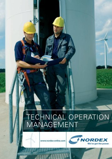 TECHNICAL OPERATION MANAGEMENT - Nordex