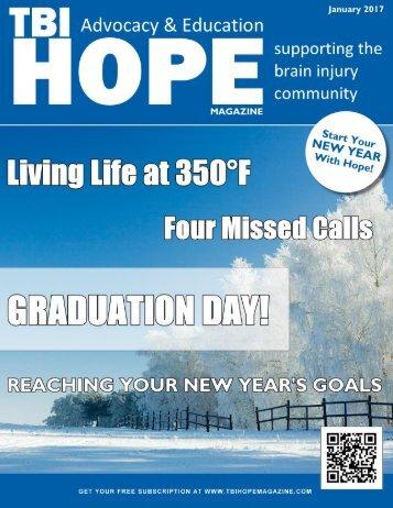 1 TBI HOPE Magazine   January 2017