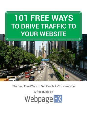 101-ways-to-drive-traffic