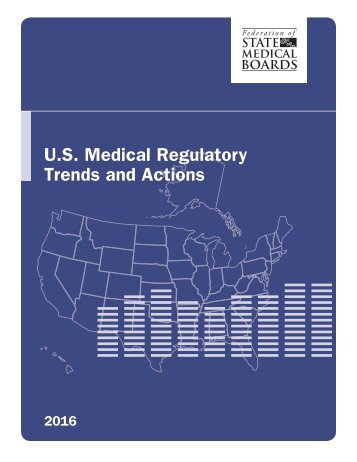 U.S Medical Regulatory Trends and Actions