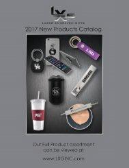 2017 LXG NEW PRODUCT CATALOG