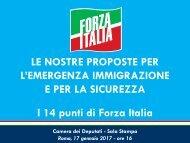 I 14 punti di Forza Italia