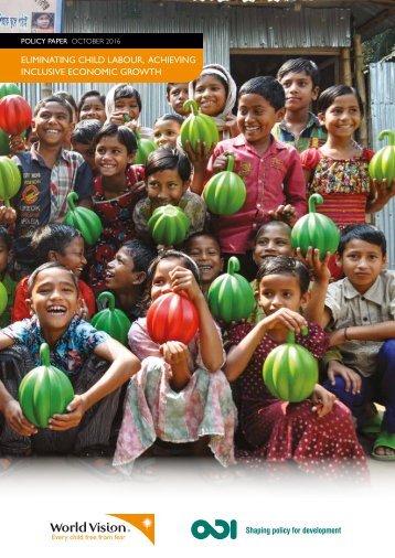 Eliminating child labour achieving inclusive economic growth