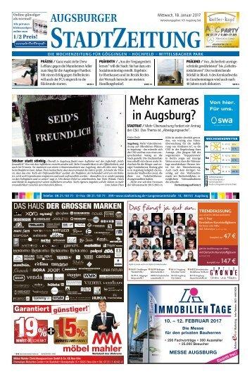 101 Augsburg - Süd 18.01.2017