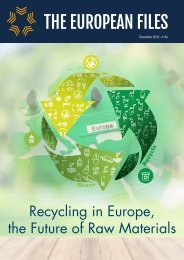 Recycling in Europe the Future of Raw Materials