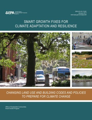 SMART GROWTH FIXES FOR CLIMATE ADAPTATION AND RESILIENCE