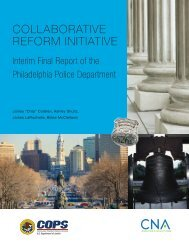 COLLABORATIVE REFORM INITIATIVE